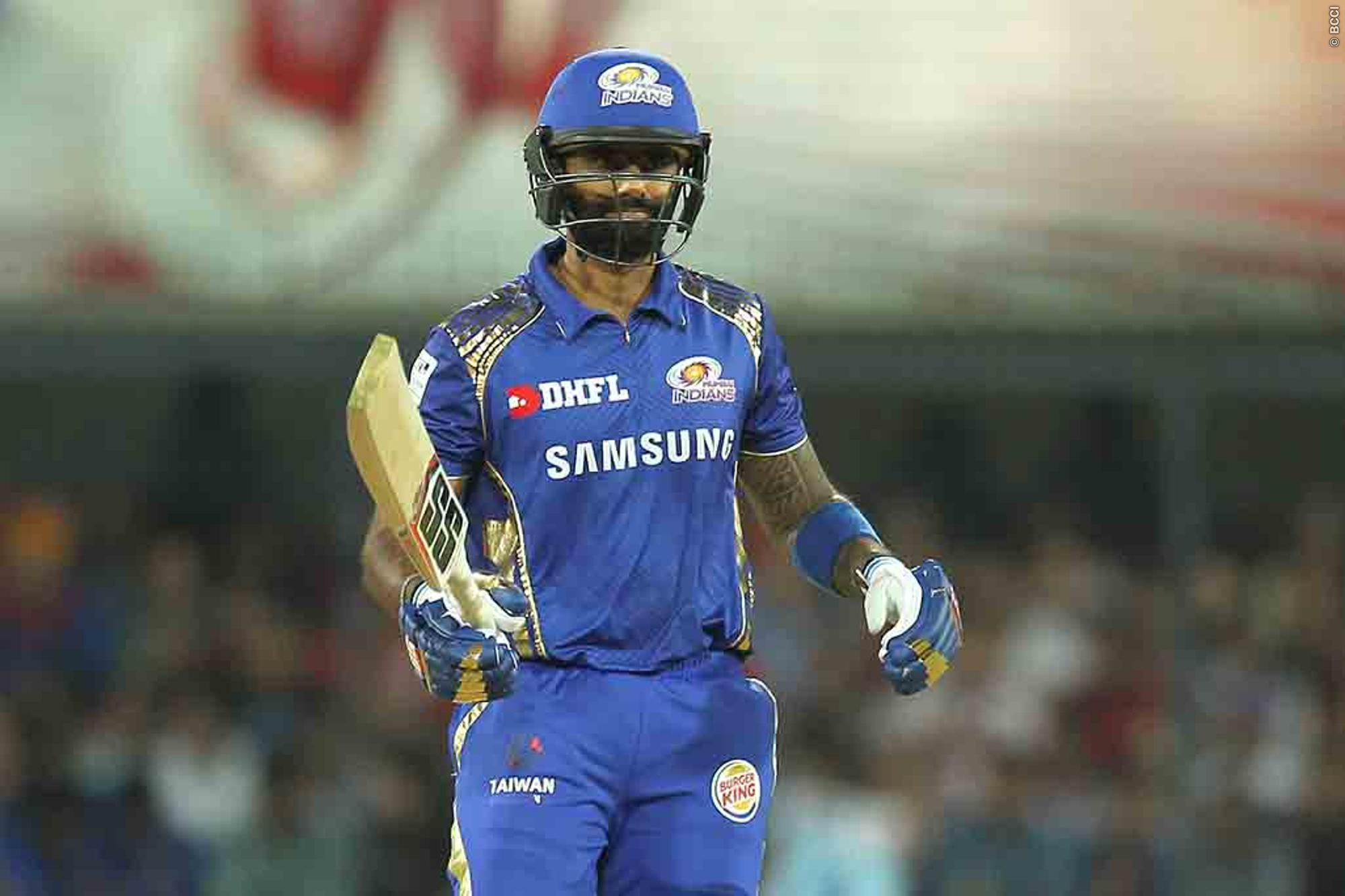 Mumbai Indians Surya Shines in Abu Dhabhi against RCB helping MI win the match and Topping the IPL 2020 Table.